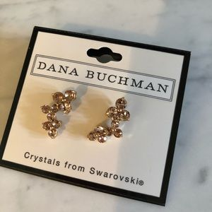 Dana Buchman Rose Gold Earrings